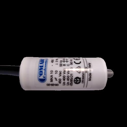 10 μF - Üzemi kondenzátor