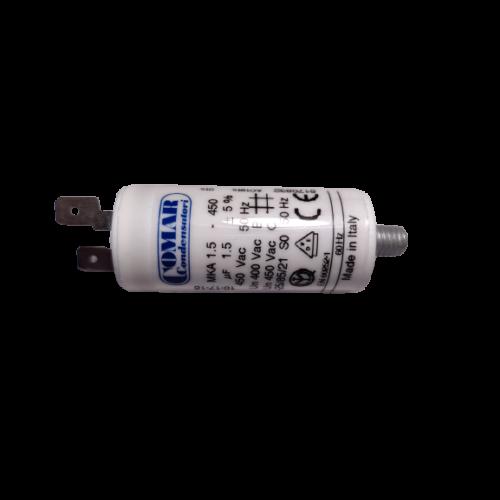 1.5 μF - Üzemi kondenzátor