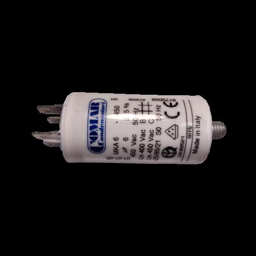 6 μF - Üzemi kondenzátor