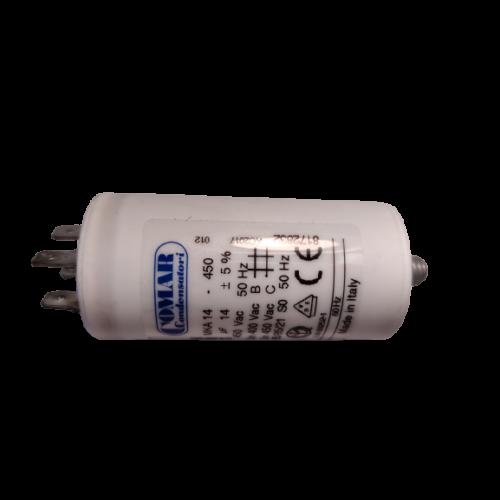 14 μF - Üzemi kondenzátor