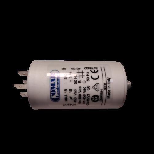 18 μF - Üzemi kondenzátor