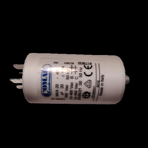 20 μF - Üzemi kondenzátor
